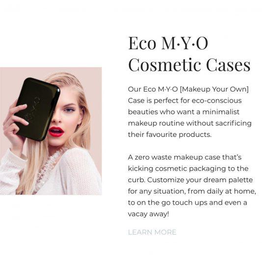 Eco MYO Cosmetics Cases Passionfruit Creative