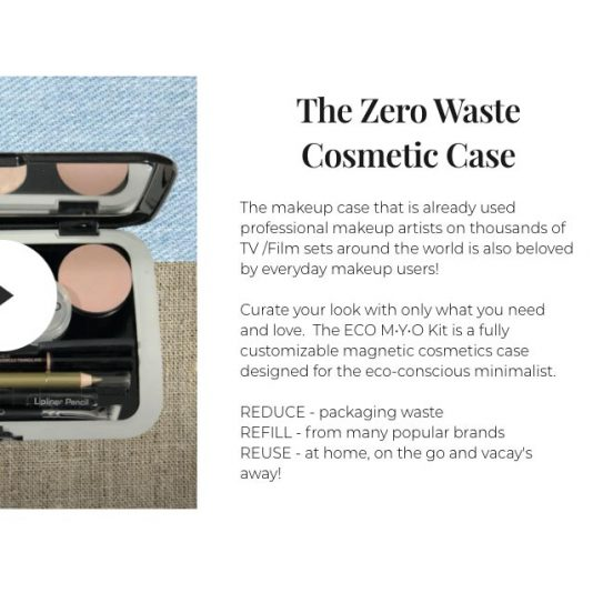 zero waste cosmetic case